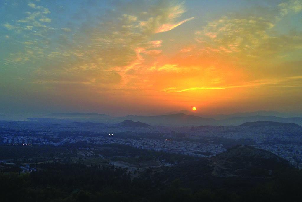 09 Πριν το ηλιοβασίλεμα ΙΙ (Αθήνα)