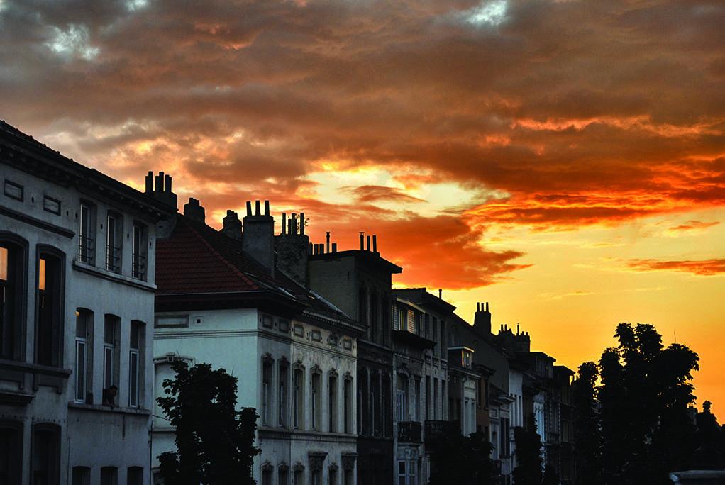 16 Ηλιοβασίλεμα (Βρυξέλλες)